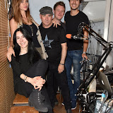 OIC - ENTSIMAGES.COM - Tatyana Colombo, Olivia Fox - Made In Chelsea LA , Tony Moore - Iron Maiden Singer , Harry Pane, and Bobby Bazini  at the  Soho Radio show London  12th September 2015 Photo Mobis Photos/OIC 0203 174 1069
