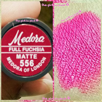 #Medora #Matte #lipstick - #Full #Fuchsia [556]
