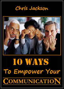 Cover of Chris Jackson's Book 10 Ways To Empower Your Communication