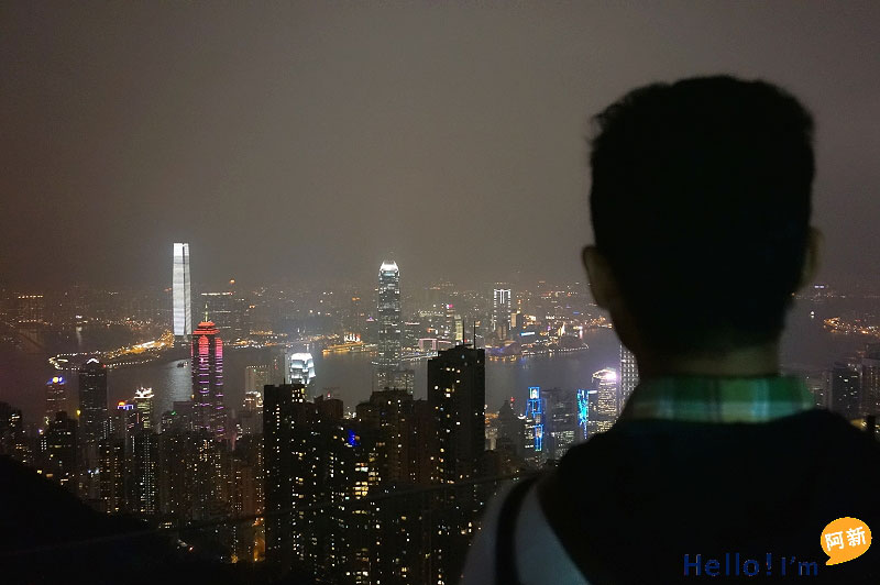 香港夜景,太平山夜景,凌霄閣摩天台428-9