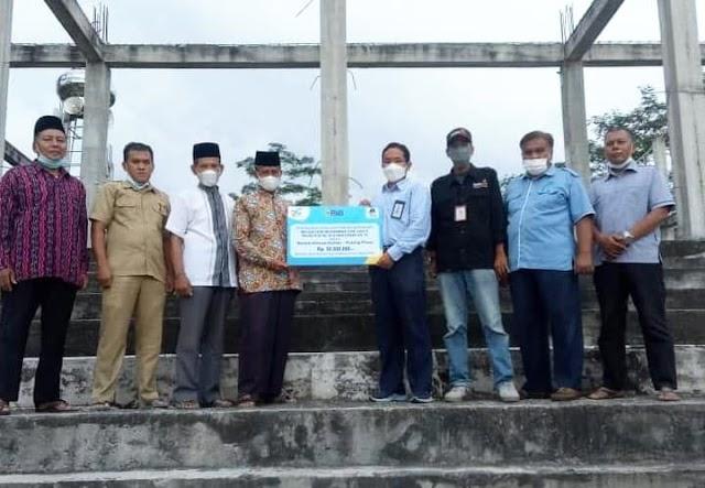 Masjid KH Ahmad Dahlan di Pulpis dapat Bantuan dari PT PJB UBJOM PLTU