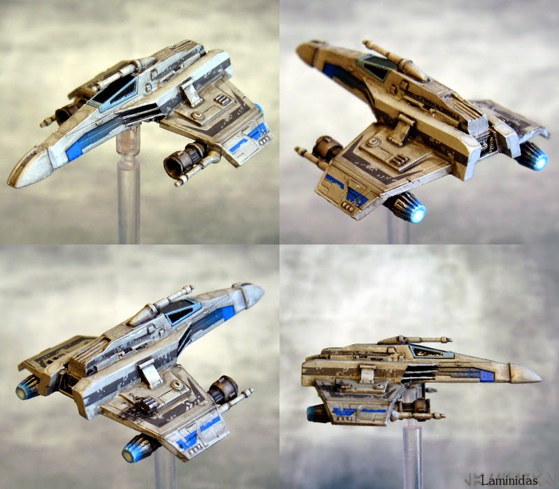 Laminidas' farbige Werften - Seite 2 140928%2BX-Wing%2B-%2BE-Wing%2B1