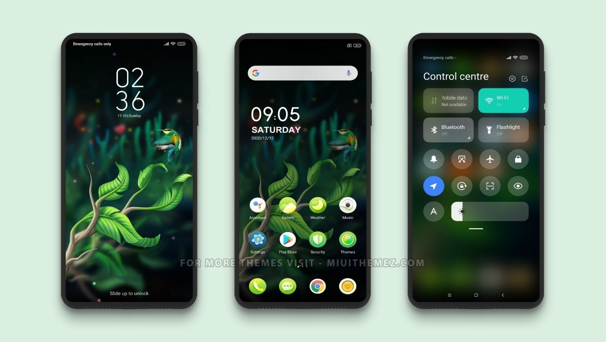 Magical Forest MIUI Theme