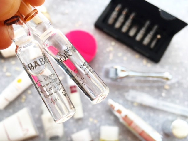 review babor look fantastic ampoules