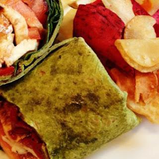 Caprese Salad Wrap