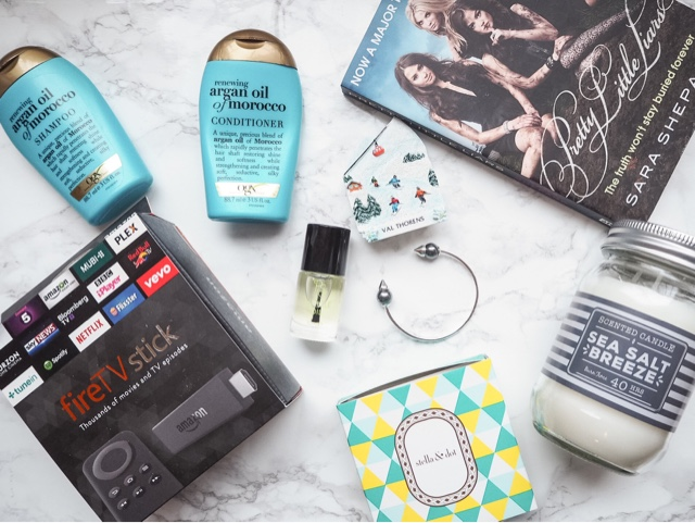 monthly-favourites-january=2016-ogx-argan-oil-har-care-amazon-firetvstick-stella-and-dot-pearl-spike-cuff-primark-candle-pretty-little-liars-book-theory-cuticle-oil