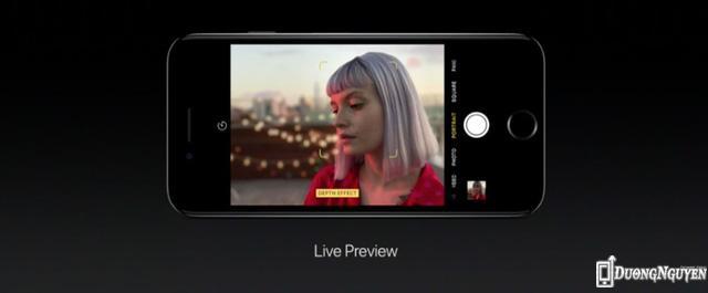 Khả năng chụp ảnh xóa phông trên iPhone 7 Plus