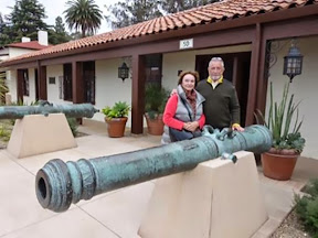 Ralph and Kathy Adams, the O Club at the Presidio