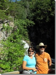 T&D at Hurricane Falls