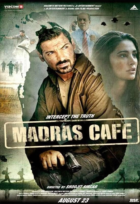 Poster Of Hindi Movie Madras Cafe (2013) Free Download Full New Hindi Movie Watch Online At Alldownloads4u.Com