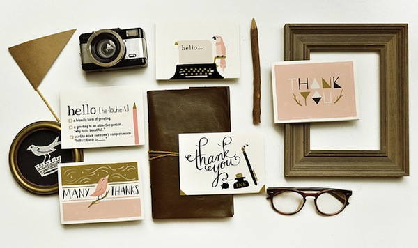 quill and fox stationery