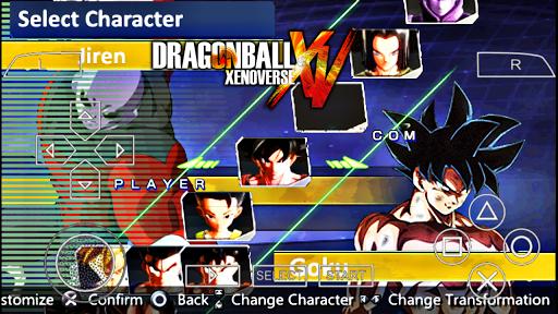 Saiu!! Dragon Ball XENOVERSE 2 MOD DBZ Shin BUDOKAi 2 Para ANDROID (PPSSPP)