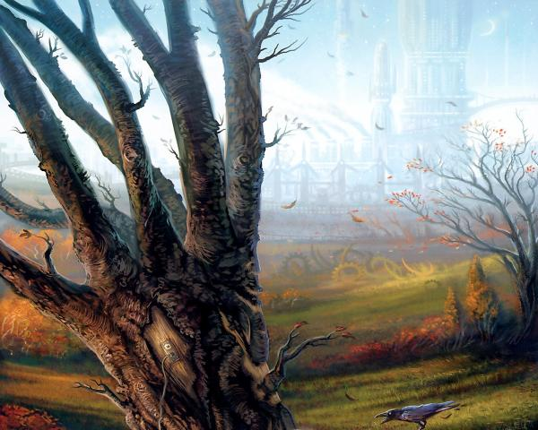 Trees On The Wind, Magical Landscapes 2