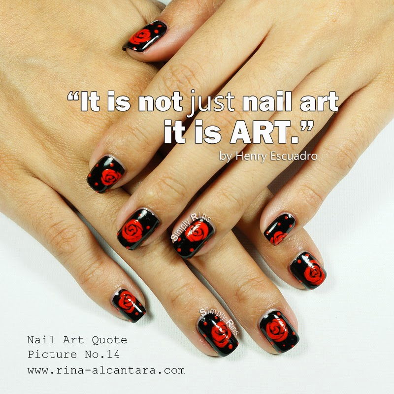 Nail Art Quote Picture No.14