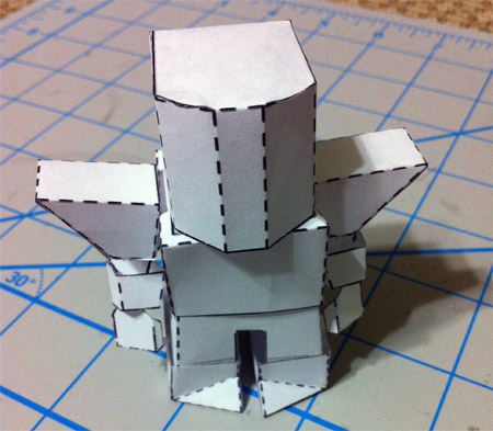 ProtoKnight Paper Toy