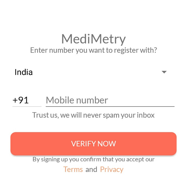 earn paytm cash by sign up medimetry