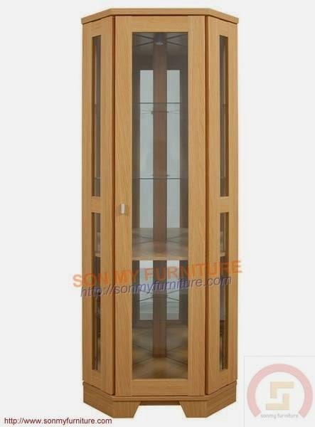 Tủ trưng bày gỗ 08
