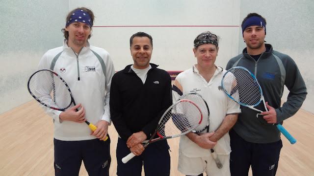 East Draw: Champions - Ben Gould (New York) & Amrit Kanwal; Malcolm Davidson & Greg Park (Philadelphia)