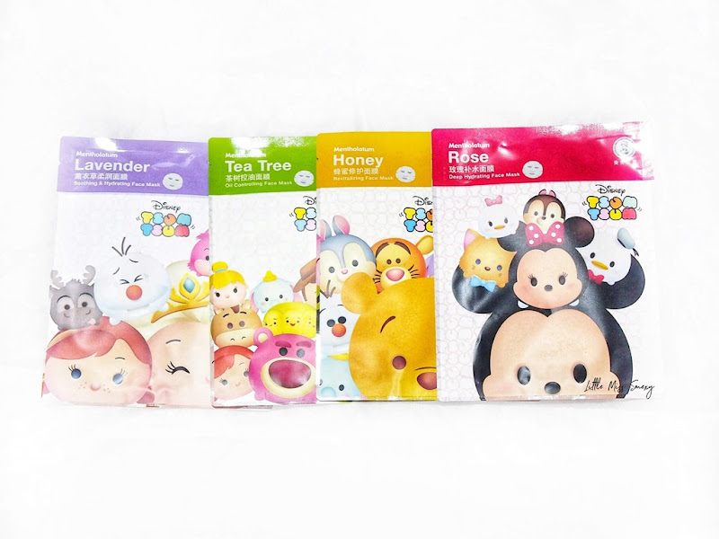 Mentholatum Disney Tsum Tsum Face Mask Collection
