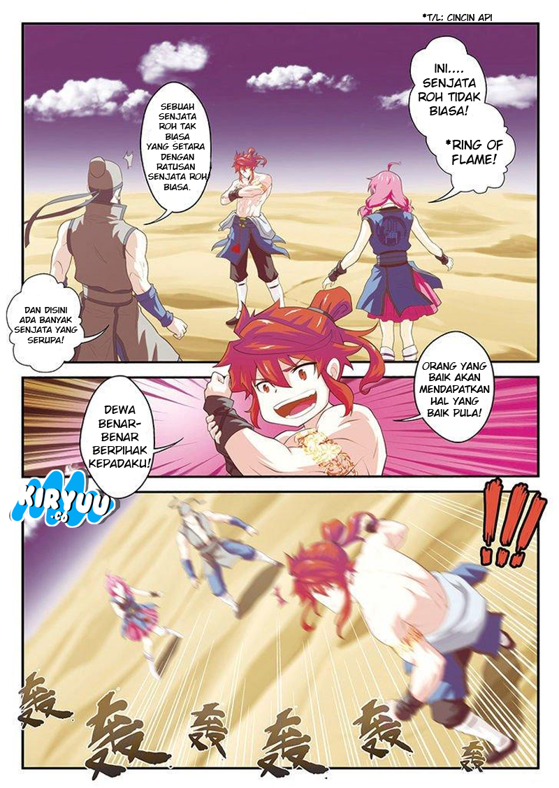 The Mythical Realm Chapter 58