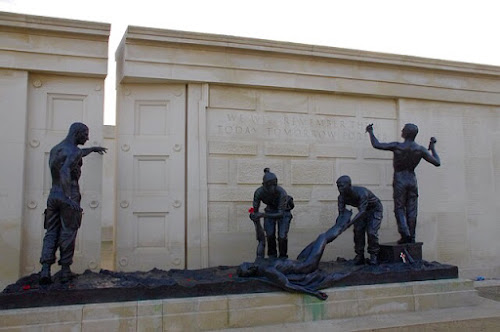 National Memorial Arboretum sits on the edge of Staffordshire. http://www.thenma.org.uk