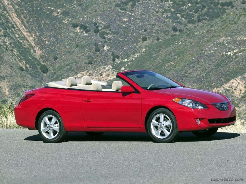 2007 toyota camry solara convertible specifications. Black Bedroom Furniture Sets. Home Design Ideas