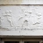 Maison du Comte de Dion : bas-reliefs Louis XVI