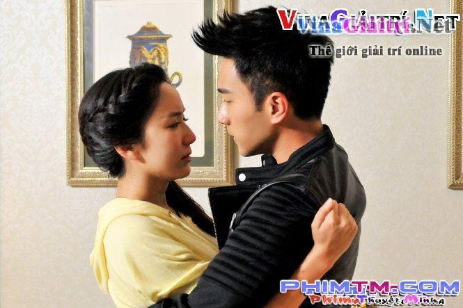 Mối tình Thạch Thiên Minh và An Ninh trong phim.
