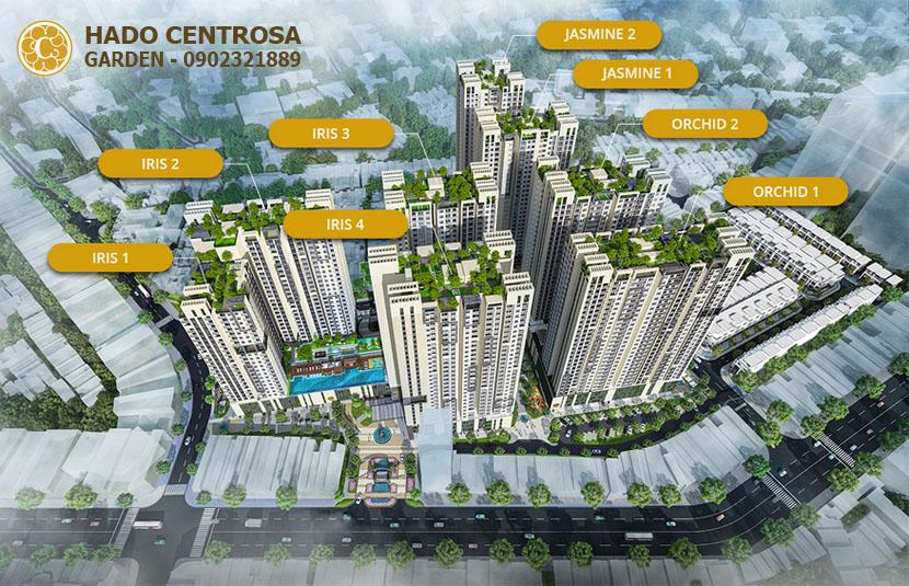 Mặt bằng Hado Centrosa Garden