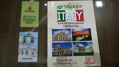 Travel italy, Milan, Florenze, Rome, Melancong ke Italy, Shaklee Trip to Italy, Benua Eropah, Italy 2015, Persediaan ke Itali, Tempat best di Italy, apa yang best di Italy