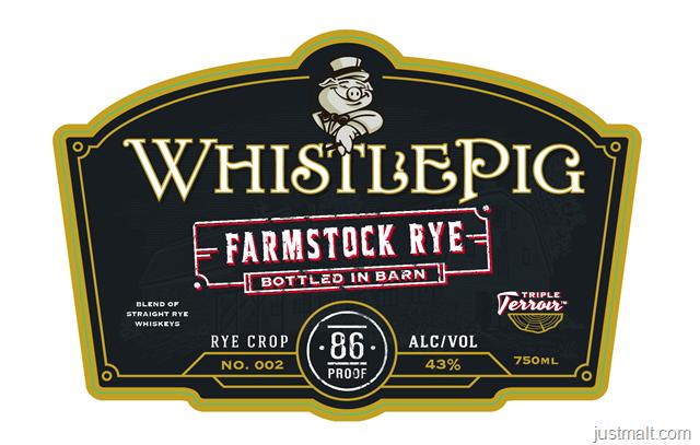 WhistlePig Farmstock Rye (Bottled In Barn)