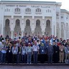 Algunos participantes en la Universidad Sharjah - Sharjah