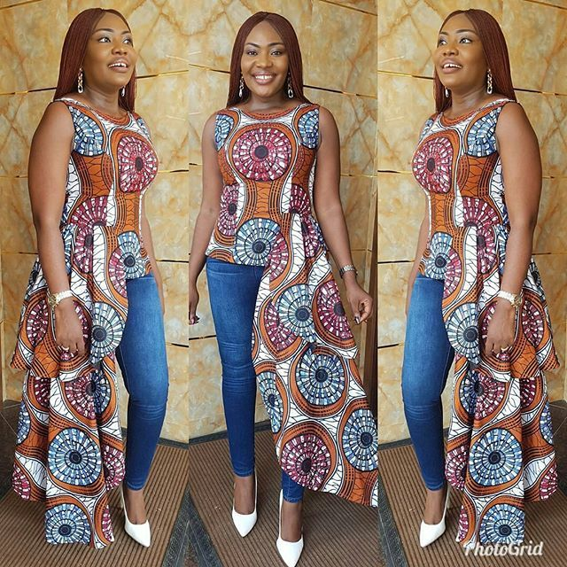 Photos Nigerian Ankara Styles For Ladies In 2018 Nails C