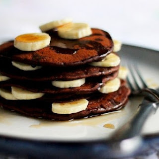 Chocolate Pancakes With Spices