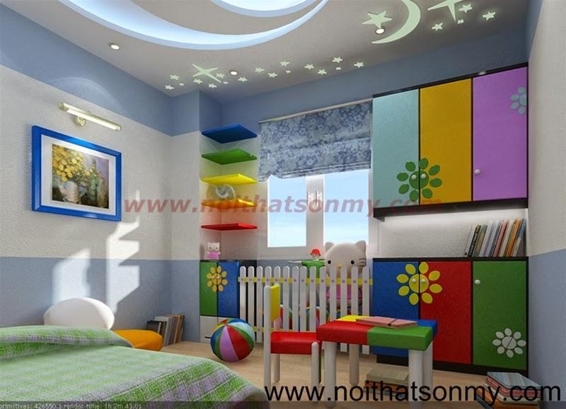 Thiết kế phòng ngủ baby