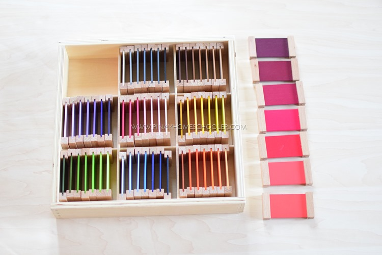 Montessori Color Tablets