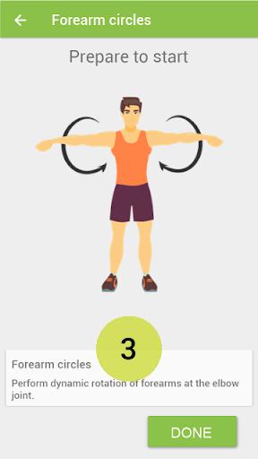 Warm up Morning exercises screenshot 1