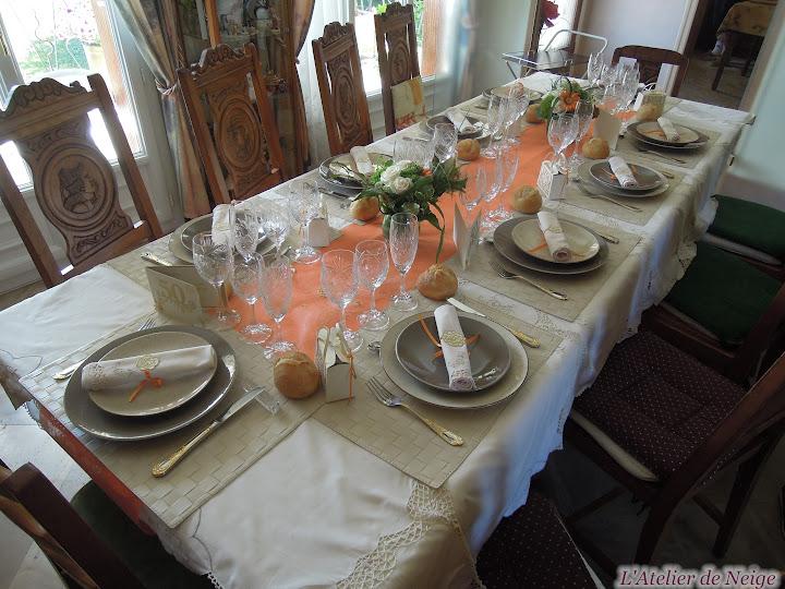 Deco de table anniversaire 50 ans - Decoration pour 50 ans de mariage ...