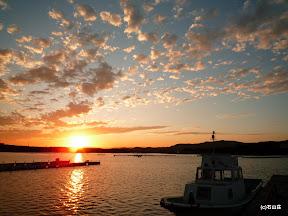 2009/9/9の夕日です。空はもう秋模様ですね~