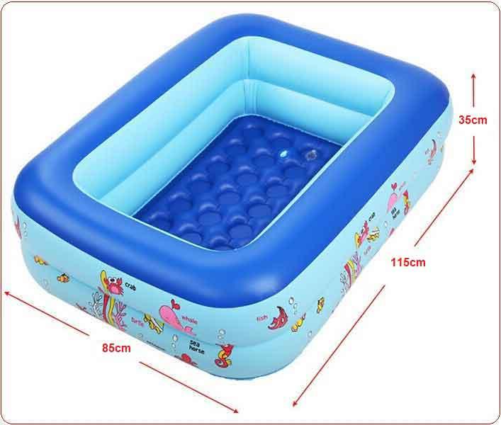 Bể bơi bơm hơi trẻ em summer (110x85x35cm)