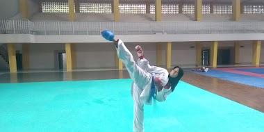 Iqlimatul Aini, Karateka Putri Siap Mengharumkan Nama Sumbar