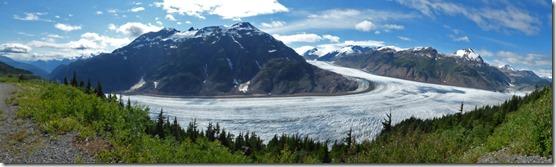Salmon Glacier near Hyder Alaska