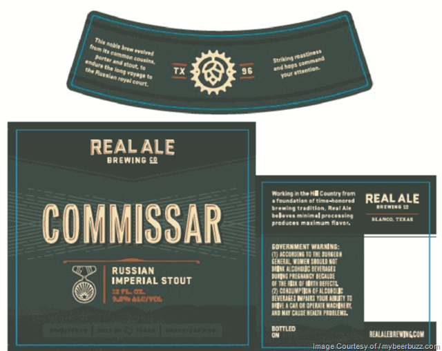 Real Ale Brewing Commissar