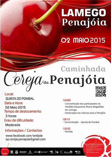 Caminhada - Cereja da Penajóia - 2 de Maio de 2015