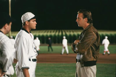 Field of Dreams Ray Kinsella Shoeless Joe Kevin Costner Ray Liotta
