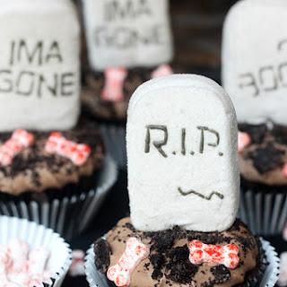 Marshmallow PEEPS® Tombstone Cupcakes