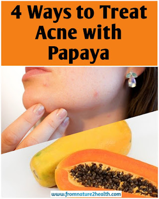 How to treat acne with papaya