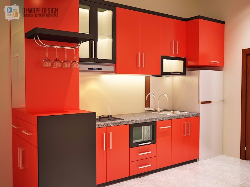 Jual kitchen set minimalis toko kitchen set murah malang for Toko kitchen set