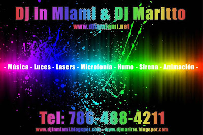 ▻ Contact Us - Contáctanos - DJ IN MIAMI