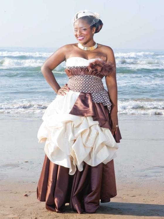Beautiful Traditional Tswana Wedding Dresses Styles 2d
